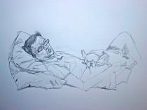 Study of David (No 3), 2007