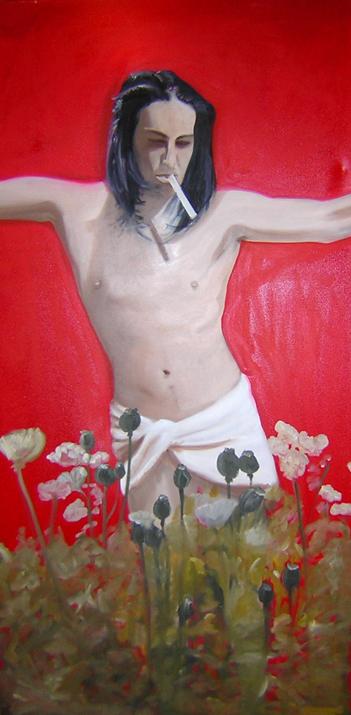 Opium Jesus (Portrait of Tyler), 2003