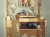 William Eric : Adirondack china cabinet, 1998.