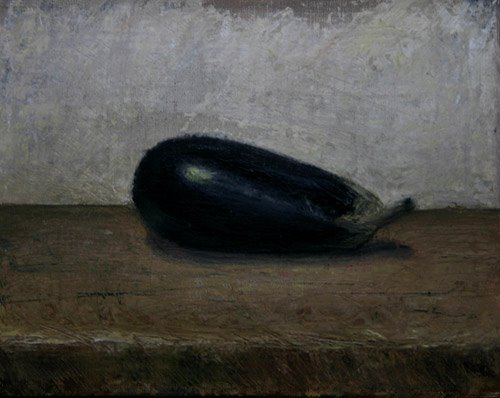 William Eric : Eggplant and plank, 2006.