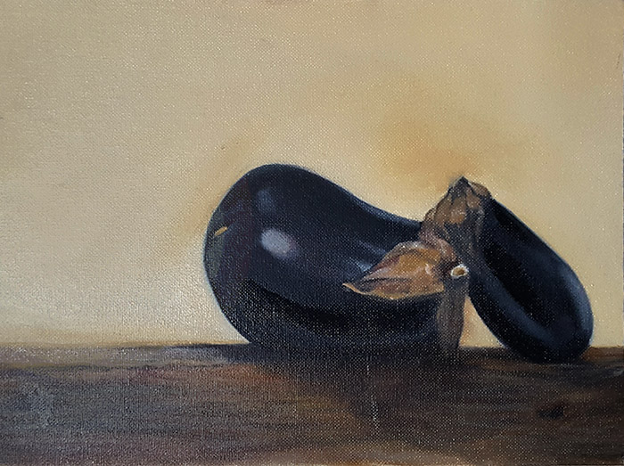 William Eric : Eggplant, 2008.